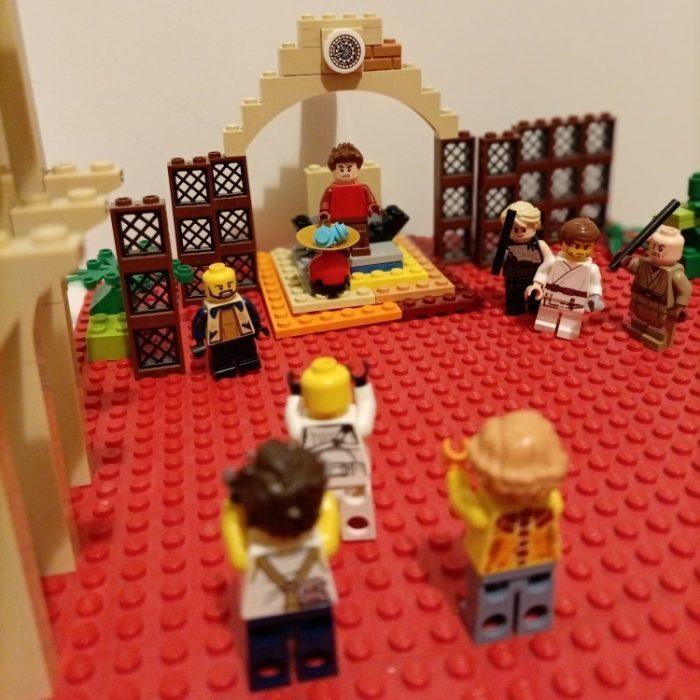 1. Station: Jesus wird zum Tod verurteilt (Adam)
