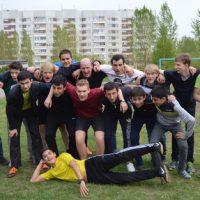 Russisch-deutsches Fußballmatch