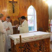Heilige Messe in Uljanowsk
